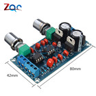 Low-pass Preamplifier Filter NE5532 Subwoofer Volume Process Circuit Amplifer Board AC 9V-15V Stereo Tone Board