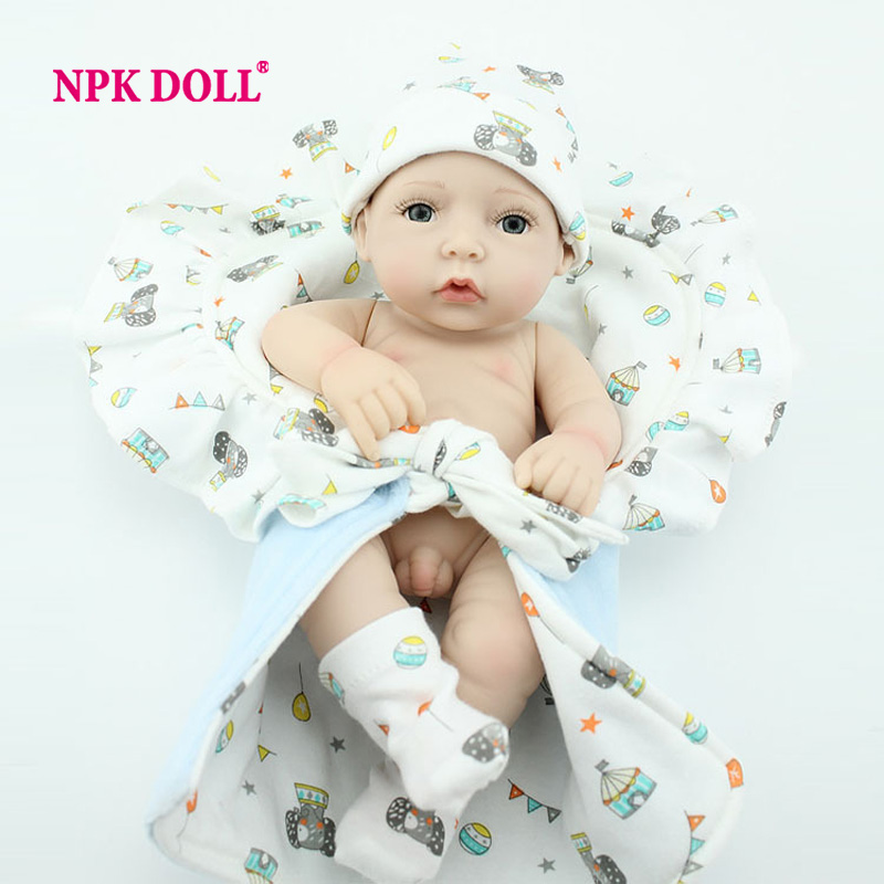 Handmade Real Lifelike 10 Inches Full Body Silicone Baby