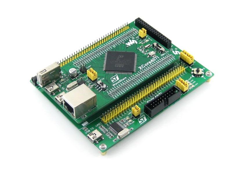 module STM32 Module STM32F407IGT6 development board, with USB HS/FS, Ethernet, NandFlash, JTAG/SWD, LCD, USB TO UART = EVK407I module stm32 qfp176 lqfp176 0 5mm pitch yamaichi socket ic51 1764 1505 5 designed for stm32 mcu supports jtag swd usart serial p