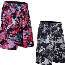 swiming shorts men's basketball sport big over the knee shorts five shorts trousers loose running training men's fitness shorts