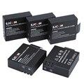 Baterias originales 5 pc/lot batería sj4000 sjcam sj5000 sj6000 para sj sj 4000 5000 6000 sj7000 sj9000 m10 sjcam cámara accessaries