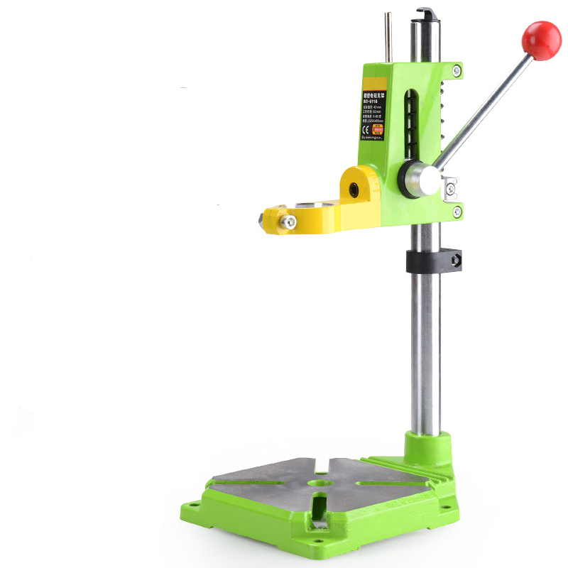 MINIQ Precision電気ドリルスタンドパワーロータリーツールアクセサリーベンチドリルプレススタンドベース木工ツール