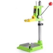 MINIQ précision perceuse électrique support outils rotatifs électriques accessoires banc perceuse support Base outils de travail du bois