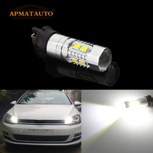 Pair Canbus  PW24W  LED Projector DRL Daytime Running Light Turn Signal  Bulb For  VW Golf MK7 Golf7 Golf VII