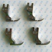 2 LEFT 2 RIGHT NARROW HINGED CORDING ZIPPER FOOT P36LN P36N P36LN P36N