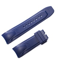 Reef Tiger/RT Men Sport Watch Band Black Orange Green Rubber Watchband Blue Rubber Watch Strap with Buckle RGA3063