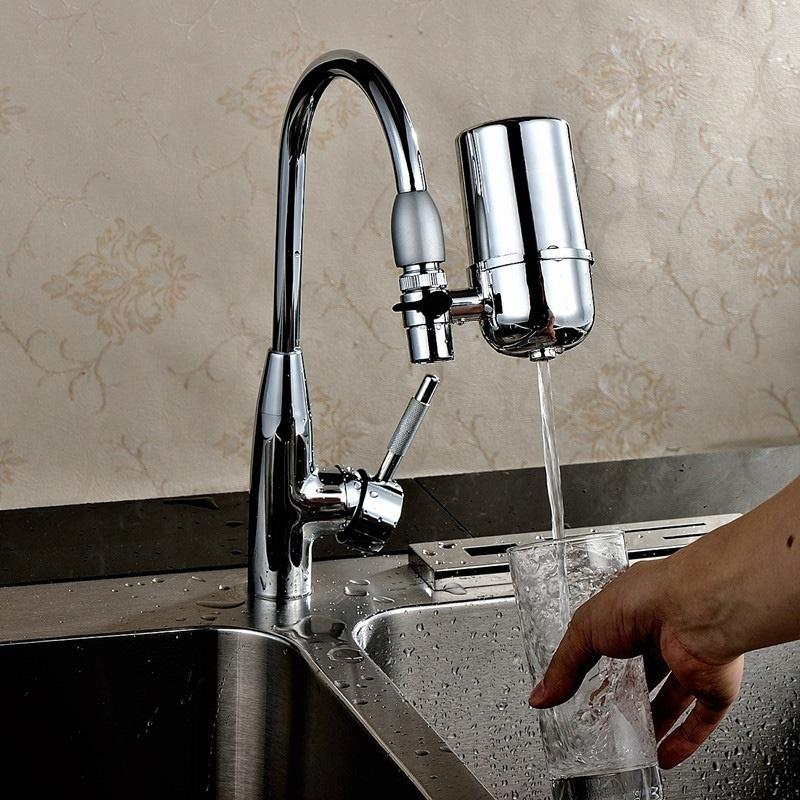 TPFOCUS Tap Water Purifier Home Kitchen Filter Water Purifying Device Faucet Water-strainer