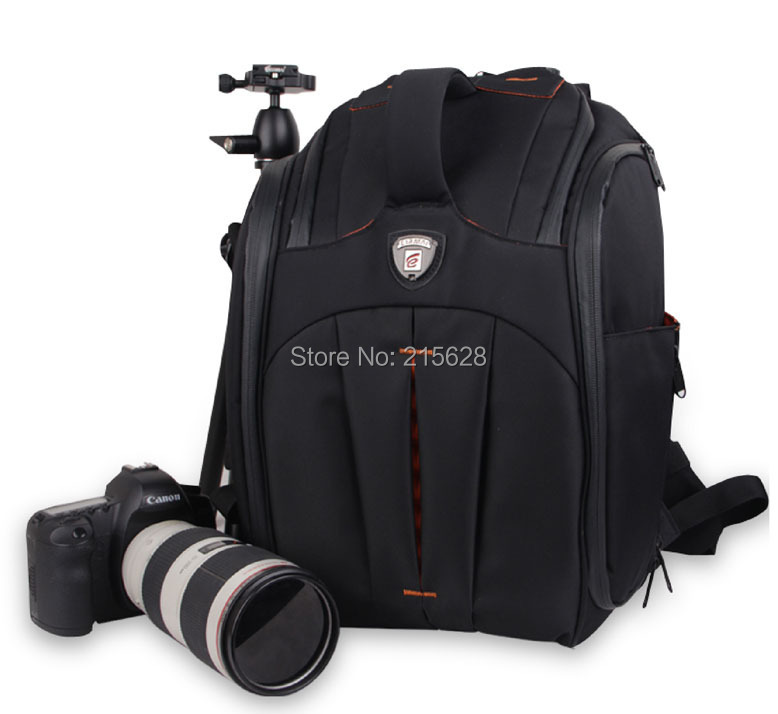 Professional Waterproof anti-theft DSLR video Camera Bag  Shockproof Wear-resisting 14 laptop digital slr photography backpack sinpaid anti theft digital dslr photo padded camera backpack with rain cover waterproof laptop 15 6 soft bag video case 50