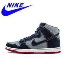 25a1d78d Nueva llegada Original auténtico Nike DUNK SB alta TRD QS hombres de  desgaste duro zapatos de skate zapatillas deportivas 881758.