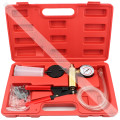 Brake Bleeder Kit &Hand Held Mini Vacuum Pump Kits Tester 2 in 1-Copper Pump Body