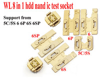 Original WL 8 In1 Hdd Nand Ic Test Socket Hard Disk Ic Test For 5 5c