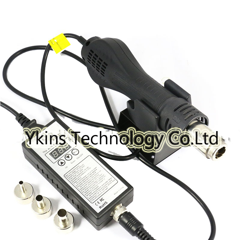 <font><b>8858</b></font> <font><b>110V</b></font>/220V Portable BGA Rework Solder Station <font><b>Hot</b></font> <font><b>Air</b></font> Blower <font><b>Heat</b></font> <font><b>Gun</b></font> Better Saike Yihua <font><b>8858</b></font> image
