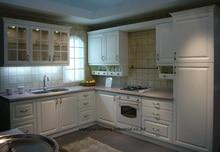 PVC/vinyl kitchen cabinet(LH-PV020)