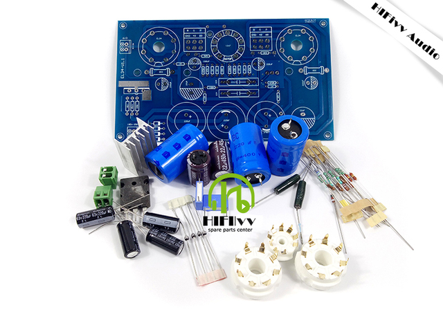 Hifivv audio hifi audio tube amplifier EL34 kits kt88 amplifer kits ...