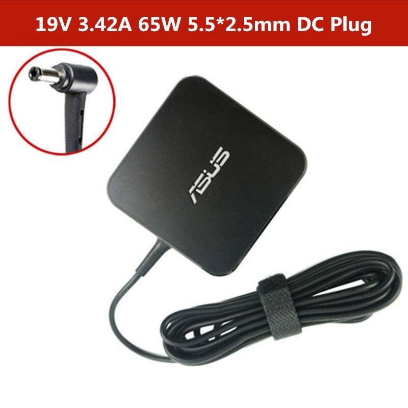 Адаптер для ноутбука Asus 19V 3.42A 65W 5,5*2,5mm ADP-65DW A/ADP-65AW A AC зарядное устройство для ноутбука Asus X550C A450C Y481C