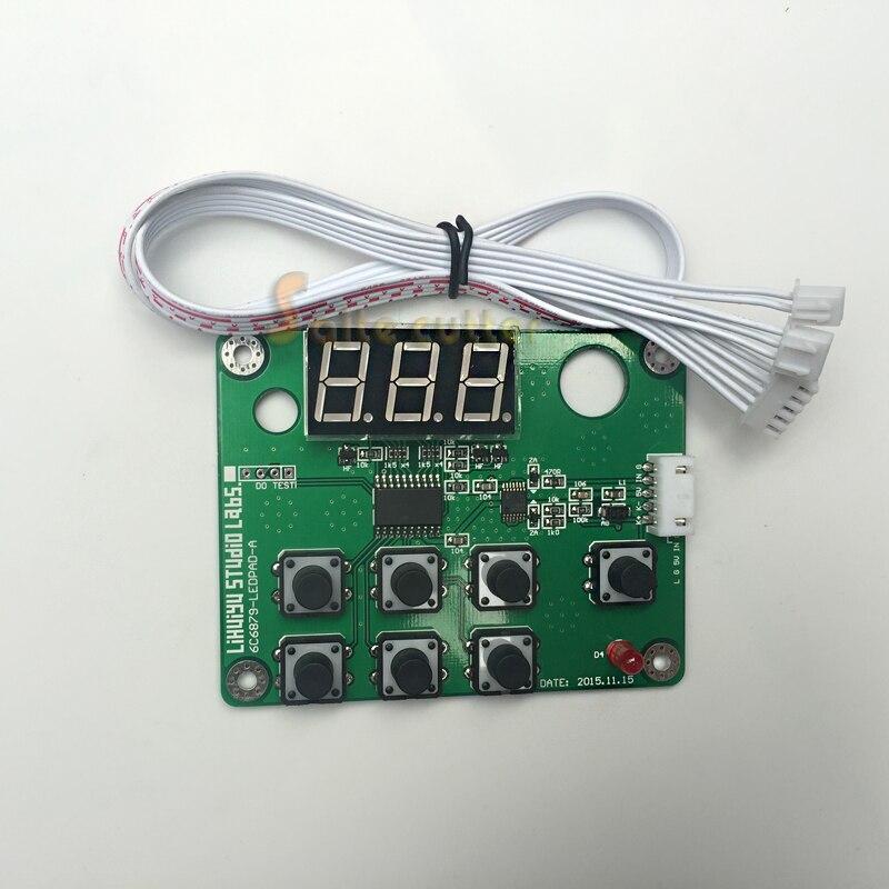 LIHUIYU Panneau De Contrôle pour le M Carte Principale M2 Nano Co2 Gravure Laser Machine De Découpe Graveur Cutter K40 3020