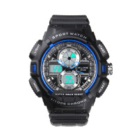 Losida New Trend Of Fashion Cool Mountain Waterproof Luminous Swimming Digital Analog Display Electronic Watch Movement