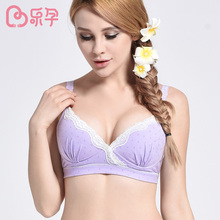 leyun maternity bra cotton pregnancy mother nursing bra lace maternity underwear clothes bra open up no sagging