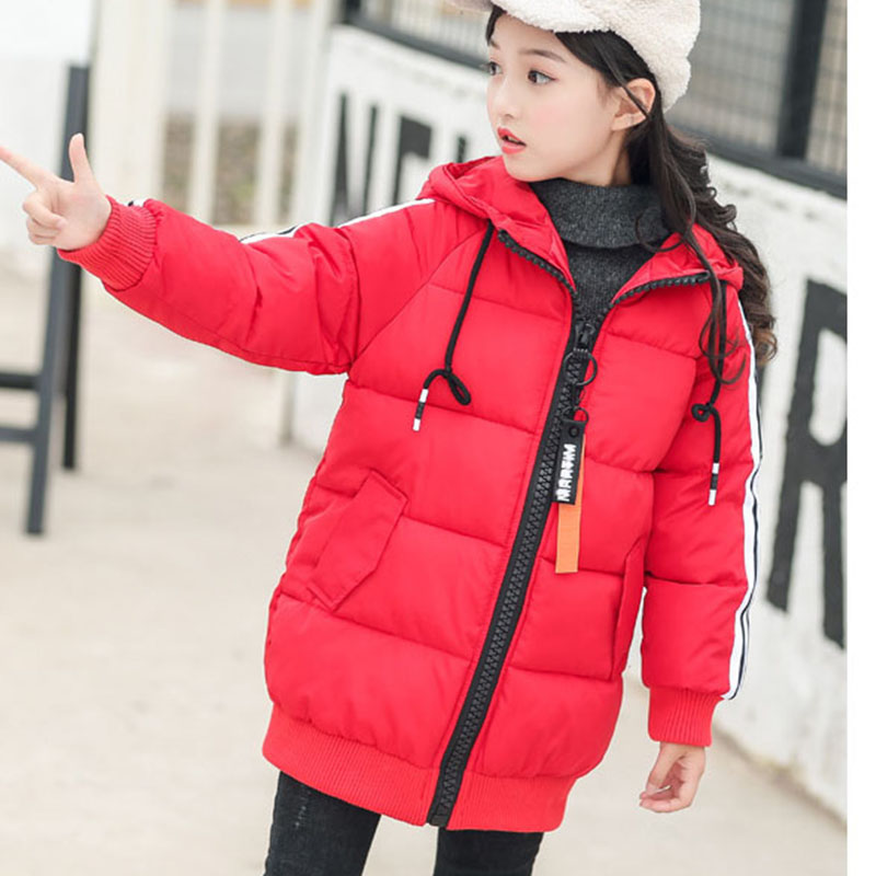 long hooded coats baby big girls solid winter jackets boys warm outerwear tops clothing children trench coats for girls clothes baby boy s fashion hooded coats 2017 winter cartoons little monster cute long sleeve jackets children s clothing warm outerwear