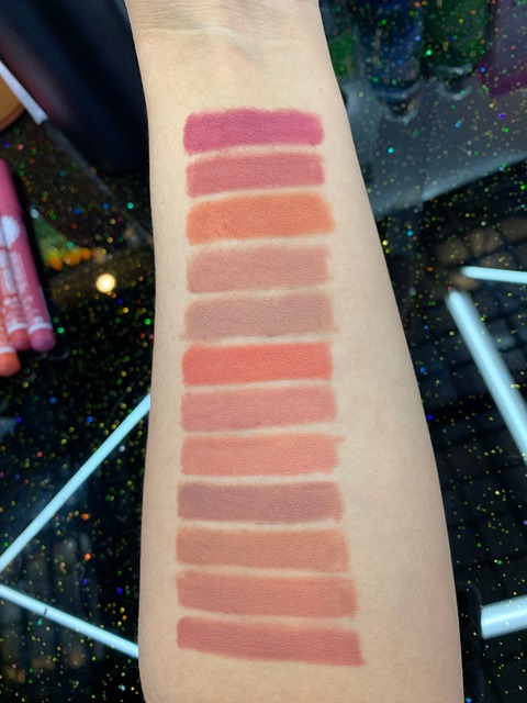 3pcs Lipstick Pencil Waterproof Long Lasting 12 colors Matte Glitter Lip Liner Makeup Cosmetics 5