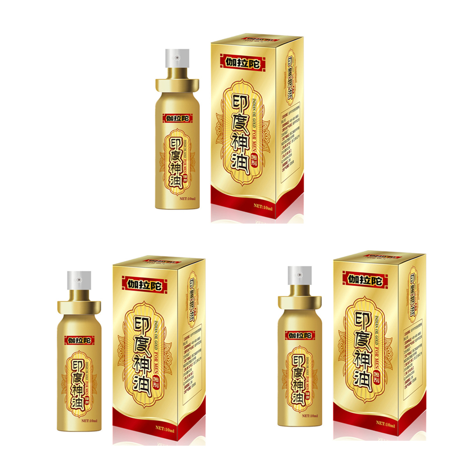 3Pcs New Duai Male Long Time Sex Delay Spray For Men Penis Extender Enlargement -8701
