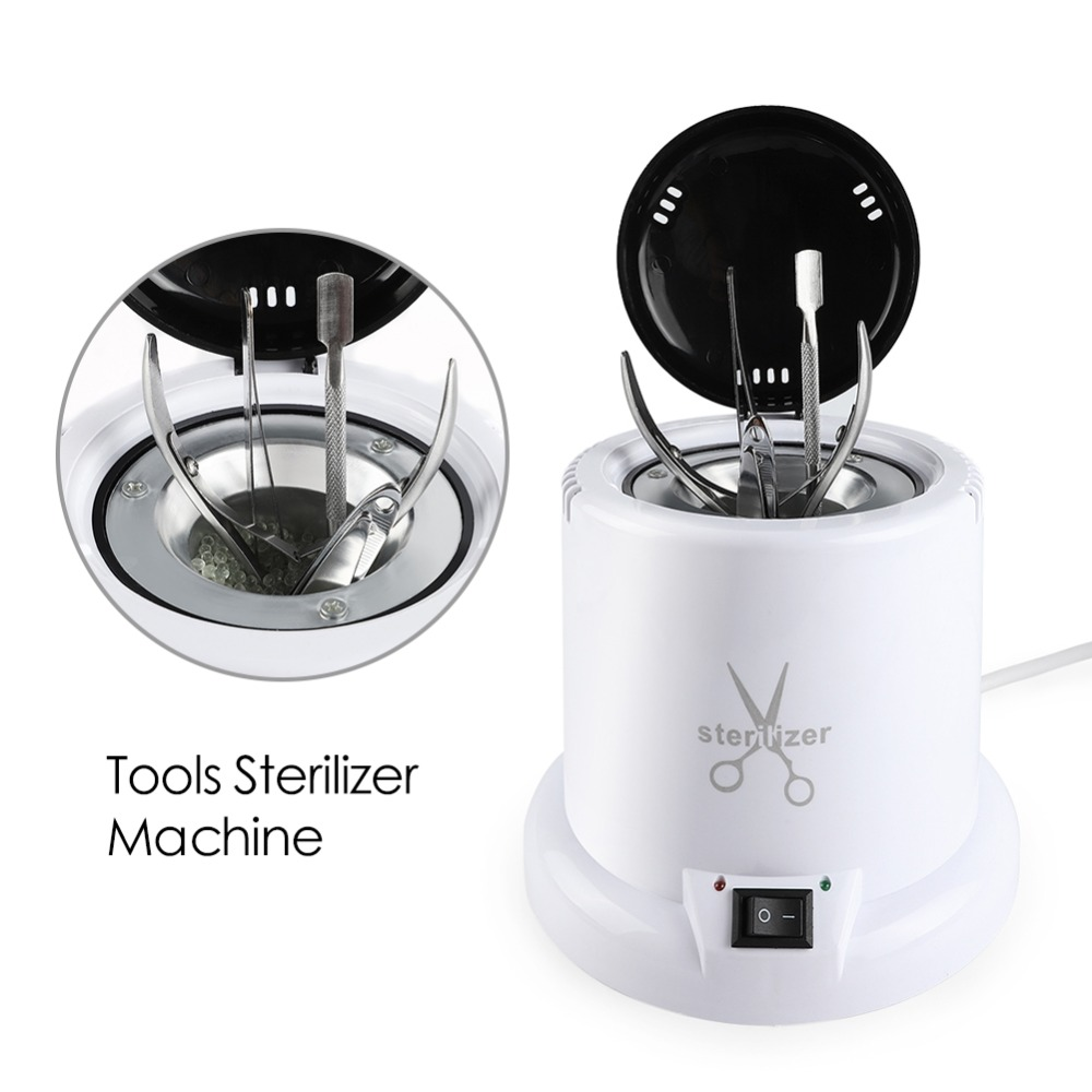 High Temperature Tools Sterilizer Box Nail Manicure  Disinfection Glass Balls