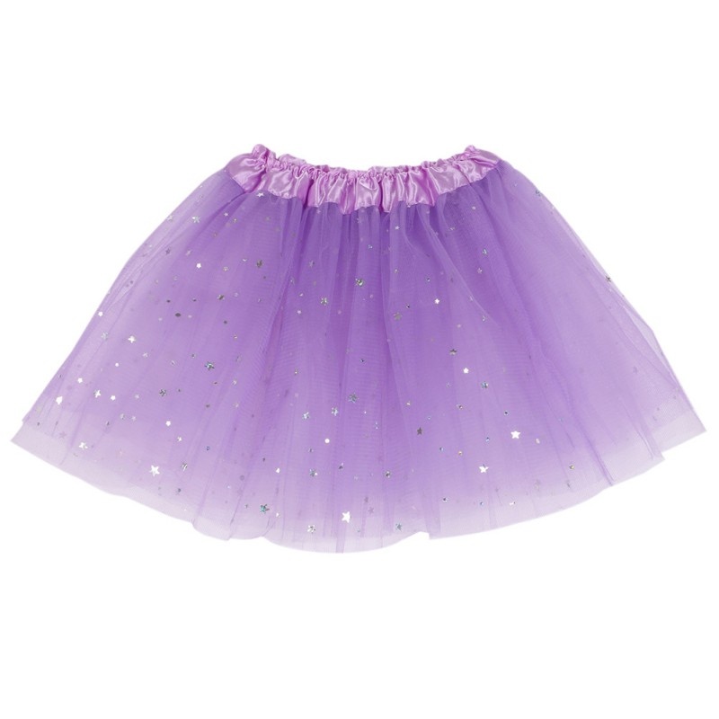G34 Lovely Baby Kids Girls Skirt Dancewear Tutu Full Pettiskirt Princess Aequined Skirts W02 image