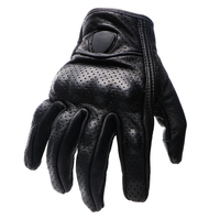 Full Finger Motorcycle Gloves Windproof Leather Breathable Unisex Protective Gears Moto Accessories Touch Screen Keep Warm