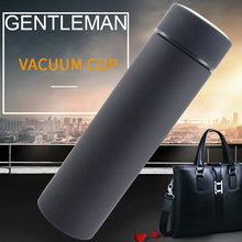 400ML/500ML Insulated Thermos Cup Double Wall Stainless Steel Vacuum Flask Coffee Mug Travel Drink Bottle Home Office Thermoscup