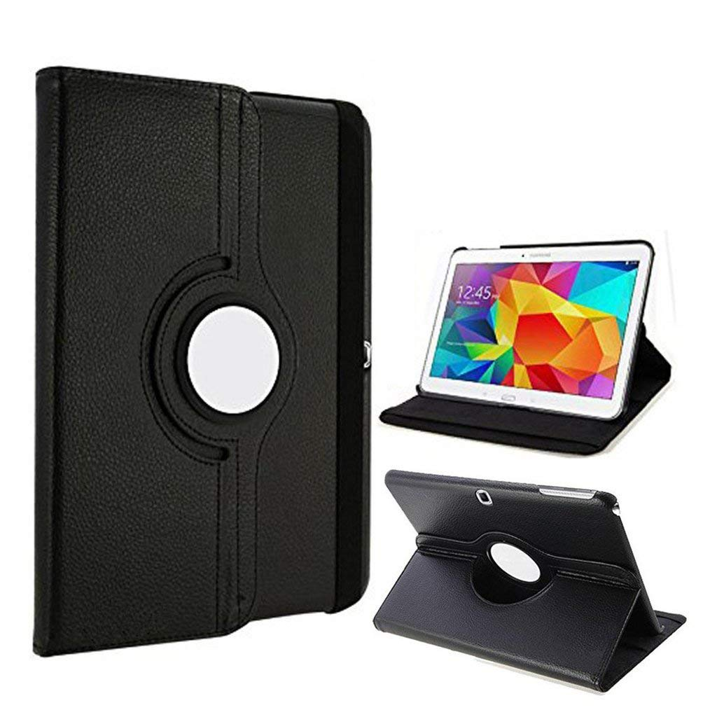 Tab 3 10 GT P5200 <font><b>P5210</b></font> Pu Leather Cover <font><b>Case</b></font> for Samsung GALAXY TAB 3 10.1 Tablet 360 Degree Rotating Flip Cover Tab3 10 P5200 image