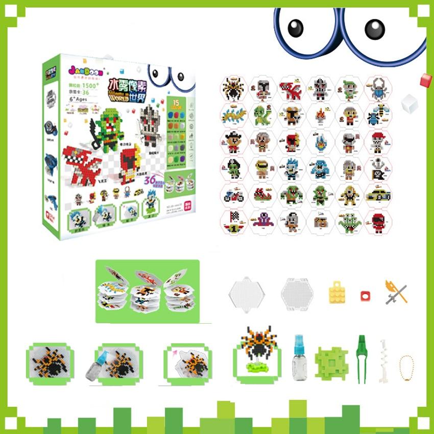 DOLLRYGA 66672 Water Spray Aqua Perlen Set Magic Bead Educational Juguetes 3D Puzzles Accessories Kit For Children Kids Toy Lote