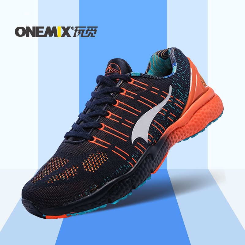 ONEMIX Men Athletic Outdoor Shoes Light Men Sneakers Breathable Males Sport Sneakers New Outdoor Walking Shoes Plus Size 39-45 peak sport men outdoor bas basketball shoes medium cut breathable comfortable revolve tech sneakers athletic training boots