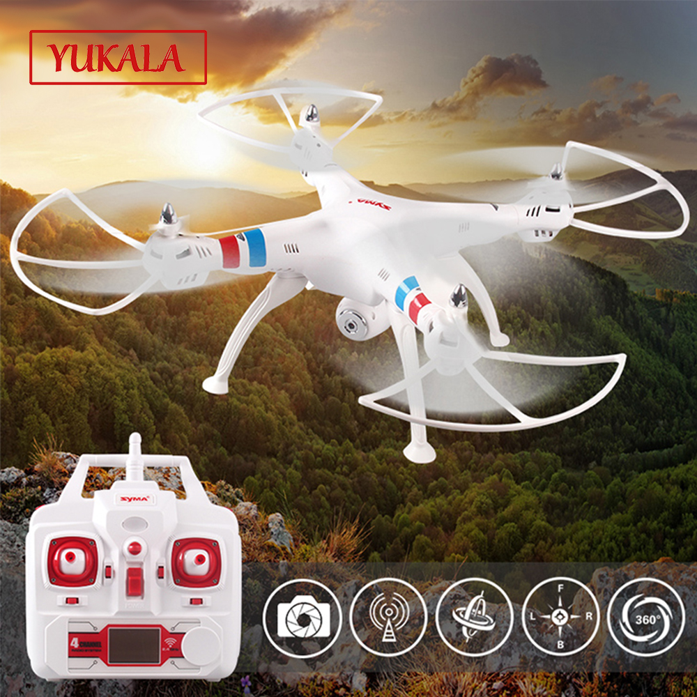 Free shipping 100% Original X8C RC 6-axis Drone 4CH 2.4G HD 2MP Camera Unmanned aerial vehicle vs X8 X8A X8W RC Airplane free shipping hr sh5 rc airplane remote control plane aerial hd camera 6 axis gyroscope unmanned aerial vehicle uav drone toys