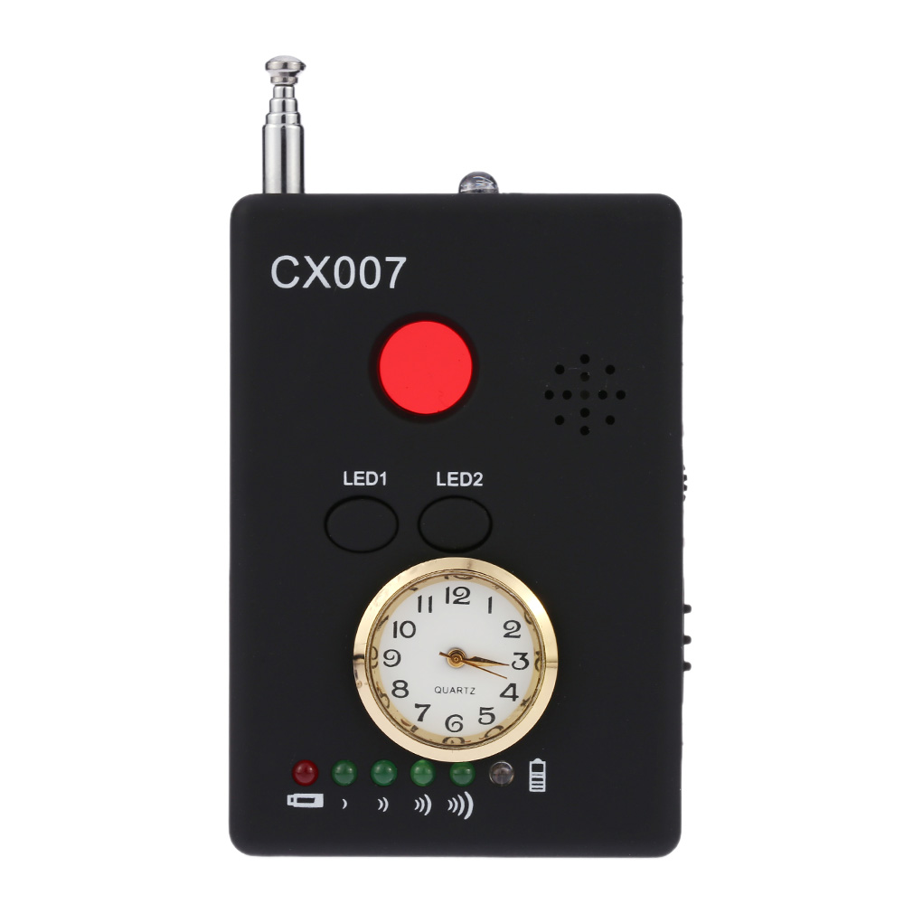 Free Shipping Multi Wireless Radio Wave Signal RF GSM Device Spy Pinhole Hidden Camera Lens Sensor Scanner Detector Finder CX007 free shipping multi function detectable rf lens detector full range wireless camera gps spy bug rf signal gsm device finder