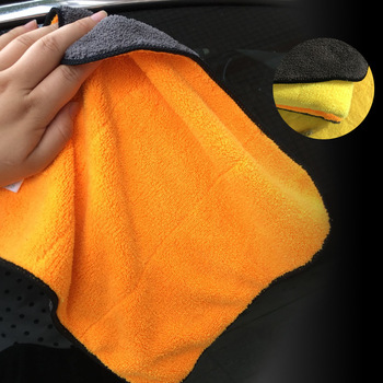 1pc Cleaning Cloth Microfiber Washing Drying Towel Scouring Pad Kitchen Dishwash Towels