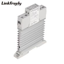 TRA23D40M 5pcs Intelligent Automation Integrated SSR Relay 3V 5V 12V 24V DC Input DIN Rail Solid State Heat Sink  40A