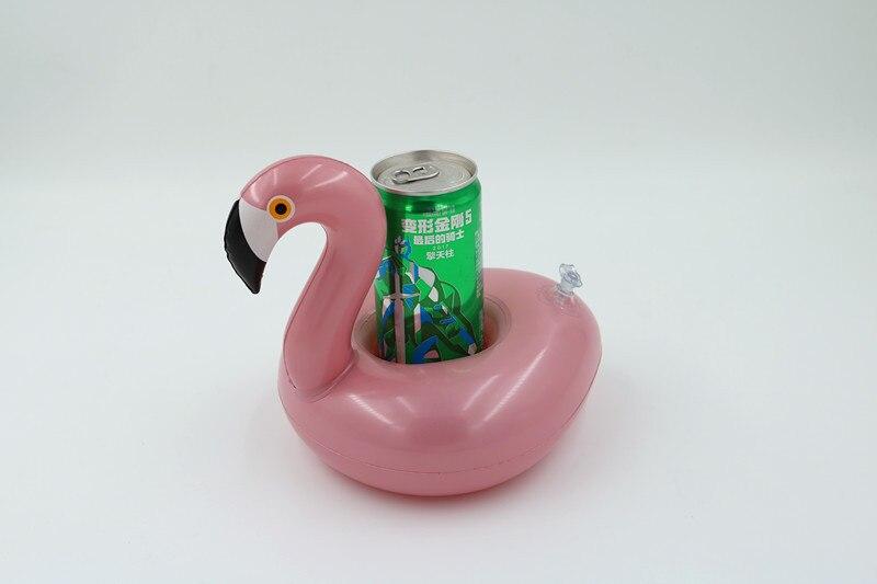 12 peçaspacote! Flamingo inflável bebida flutuadores Infláveis