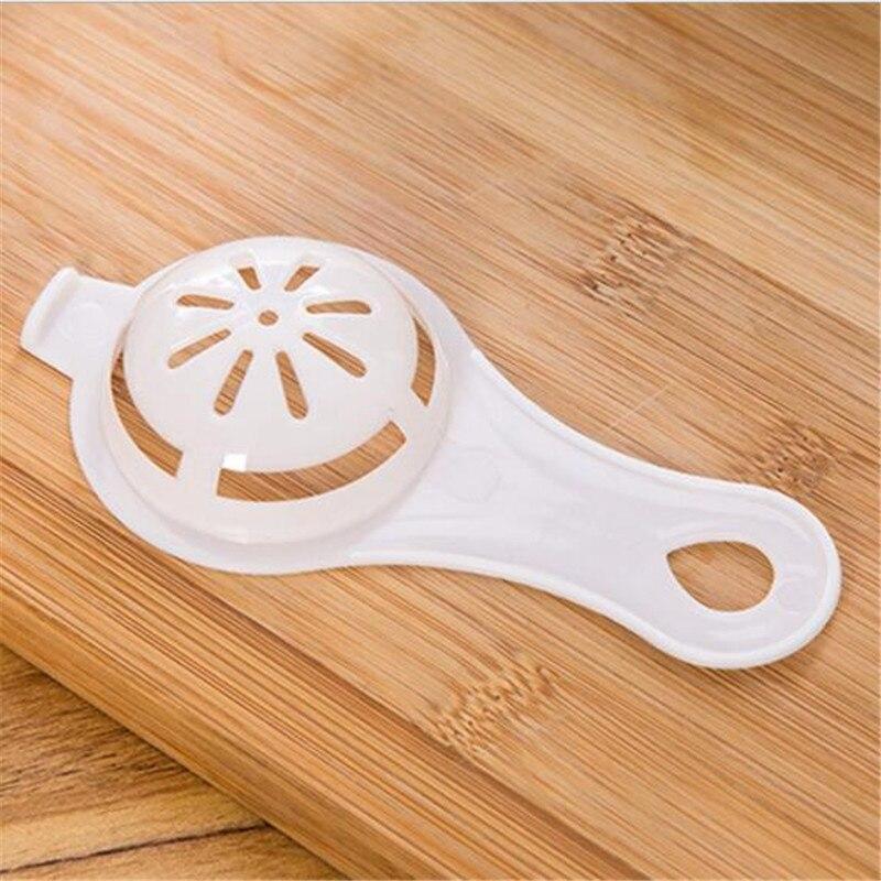 CTREE 2 Pcs Simple New Egg Yolk Protein Separation Tools Food-grade PP Egg White Separator Egg Tools Kitchen Baking Gadgets C560