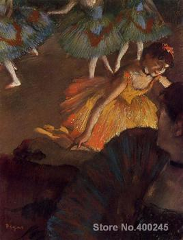 A Ballet Seen From the Opera Box Edgar Degas painting Classical art Hand painted High quality