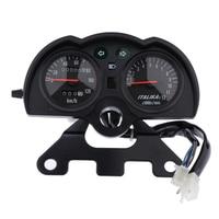 Motorcycle Instrument Sun proof Speedometer Tachometer Gauge Meter DC 12V Waterproof Speedometers for Universal Motorcycle