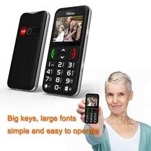 YINGTAI Teléfono para personas mayores T11, dispositivo móvil con las mejores características, antorcha de 2,2 pulgadas, velocidad FM, dialSOS, botón de gran empuje, altavoz, teclado ruso, GSM
