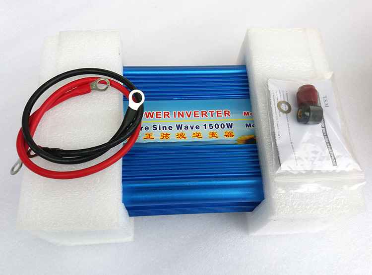 цена на inverter 12v 220v 1500w 3000w peak pure sine wave power inverters /converters