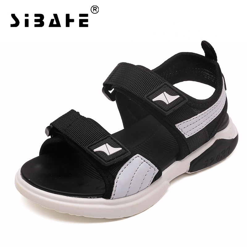 Boys Sandals PU Casual Sport Sandals Summer Beach Children Sandal Kids Outdoor Orthopedic Quick Dry Waterproof Kids Shoes ...