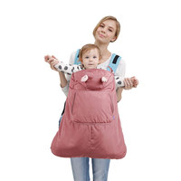 multi function Warm Winter Infant Baby cover Velvet Waterproof baby Cloak carrier Coat cover baby Hipseat Cover Backpack Sling