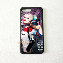 цена на harley quinn silicone soft edge hard back mobile phone cases for iphone 4s 5 5c 5s 5se 6s 6plus 7 7plus case cover