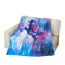 New Designs Purple Unicorn Blanket throw blanket for baby and Adult hoodie
