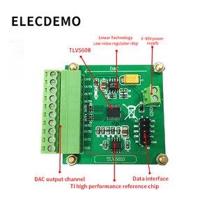 Image 2 - وحدة TLV5608 Octal المسلسل DAC وحدة TLV5610/TLV5608/TLV5629 التحويل الرقمي إلى التناظرية مع البرنامج