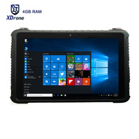 2018 10 inch 4GB RAM Strong Tablet PC Windows 10 Pro os Intel Core Z8350 Shockproof Rugged Tablets outdoor RJ45 10000mAH