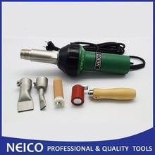 110V Of 230V 1600W Hot Air Lassen, Hete Lucht Lasser, heat Gun Met 40 Mm Silicone Seam Roller En Platte Lassen Nozzles