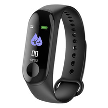 GIAUSA M3Plus Smart Bracelet Color Screen IP67 Waterproof Bluetooth Fitness Tracker Heart Rate Monitor Band Free Shipping